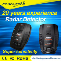 best selling anti police car speed radar detector from Conqueror