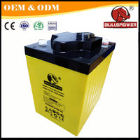 agm battery 1KW solar system 18v deep cycle solar battery 6v 225ah
