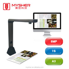 8.0 Mega portable document camera for office and school