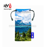 Hot selling eyeglass pouch, microfiber drawstring camera bag, sunglasses pouch/ bag/cases for sublimation