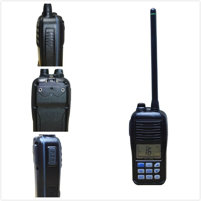 TC-36M HYS Aqua quake Draining marine moble radio water proof IP-X7 portable ham two way radio