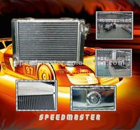 Racing car all-aluminum radiator for BMW E36