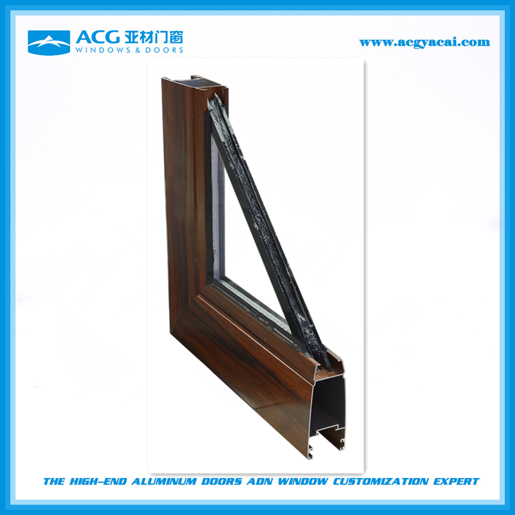 Quality guarantee lightweight t-slot aluminum profile for window and door
