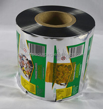 Customized food packaging laminated roll film