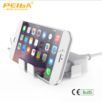 mobile phone accessories 4 usb port Cell phone holder stander charger