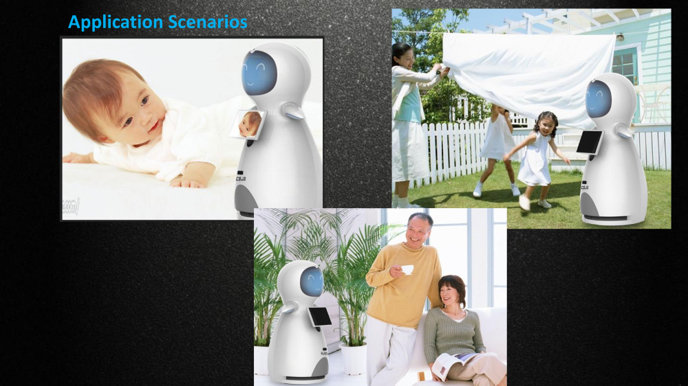 Snow Baby Kuka Robot for Home-Service Education Commercial Humanoid Robot