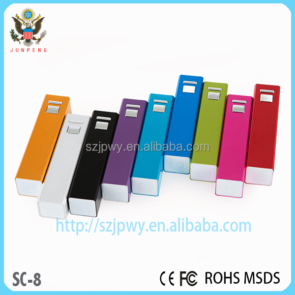 In 18650 2600 mah lithium fine portable mobile power supply