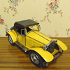 Vintage looking home decor antique metal car model