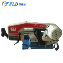 Portable Small Metal Band Saw Metal Cutting Machine