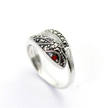 Unique Indian Jewelry 925 Sterling Silver Vintage Snake Ring