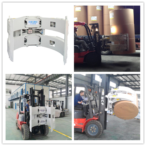 Forklift Paper Roll Clamp China Supplier