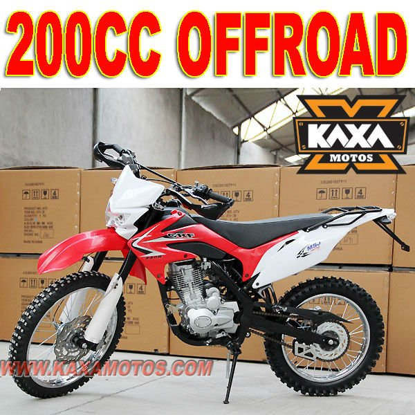 Off Road 200cc Moto Bike