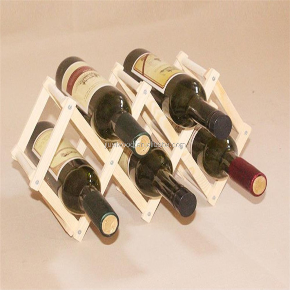 Customized wooden serving beer holder/wooden wine bottles tray