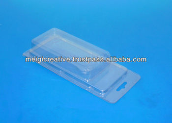 PVC Custom Retail Plastic Clamshell Packaging