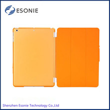High quality Leather Case Smart Cover for iPad 5/ ipad air