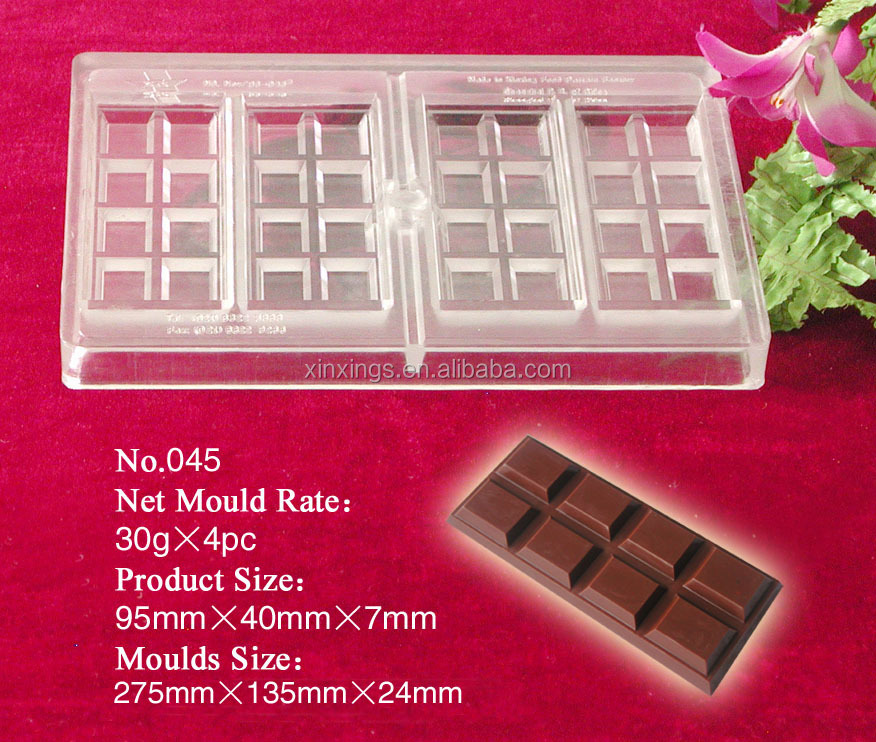 Q045 chocolate truffle paste mould
