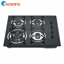 Automatic ignition gas stove and tempered glass surface material BW-XK401