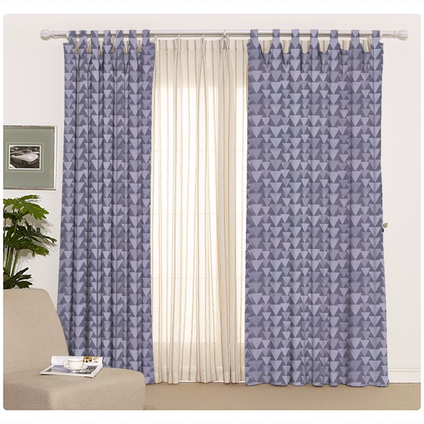 shaoxing supplier organic dyed american home living room window curtain