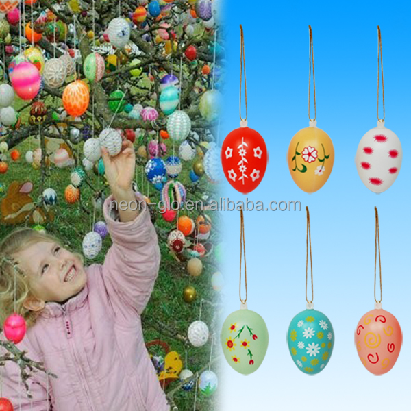 2017 New Design Colorful Easter Egg for Easter Decoration
