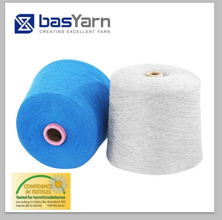 rayon/nylon/wool/angola blended yarn