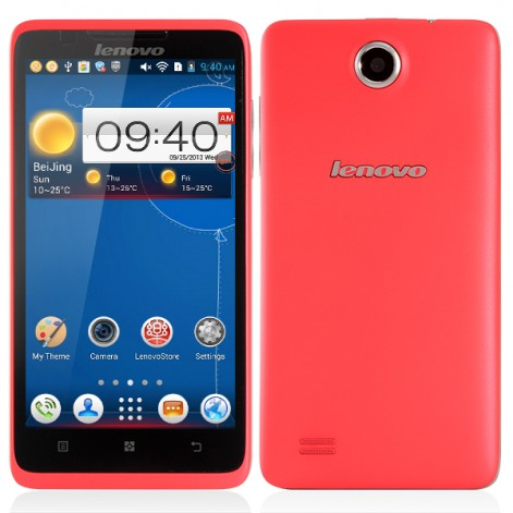 Lenovo A656 MTK6589 Quad Core 4GB 5.0 inch IPS Screen 5.0MP Camera Android 4.2 Mobile Phone pink