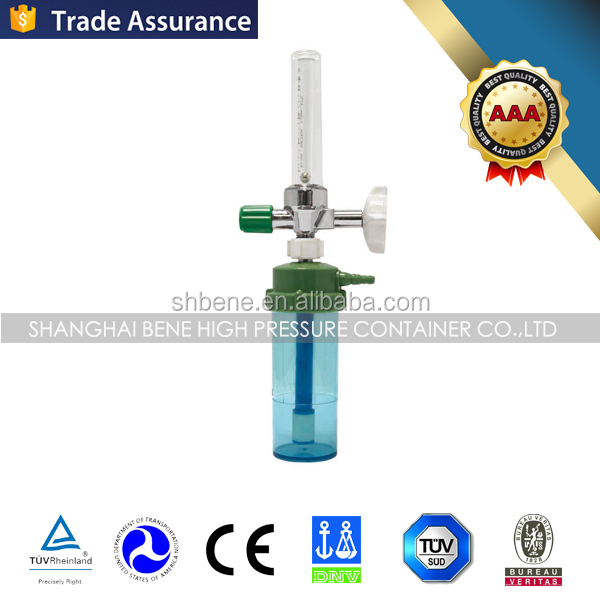 Best price Wall Installation Type Gas Flow Meter Medical Oxygen Gas Regulator Flow Meter