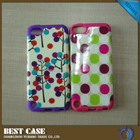 China wholesale customrized phone case for ipod touch 5 pc silicone