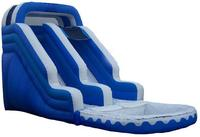 2015 PVC material large water inflatable dragon slide for sale