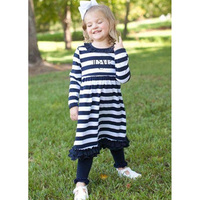 Fall Girls Ruffle Cotton Wholesale Childrens