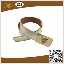 Leopard Decoration Wide Leather Belt