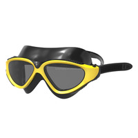 2015 Super Lens wide vision swim mask silicone swimming goggles