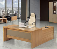Rectangular Hot Selling Office Desk With PU Writing Pad
