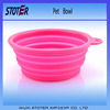 personalized dog travel bowl