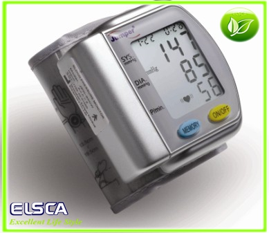 Fully Wrist Automatic Blood Pressure Monitor FDA CE