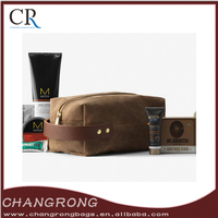 Custom Canvas Wash Bag Canvas Dopp Kit