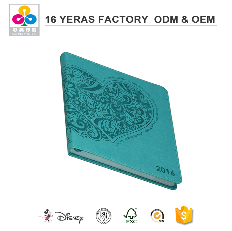Professional Hot Sale Low Cost Leather Cover Notebook Journal Diary Blank String