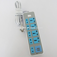 high quality solar powered portable power socket strip