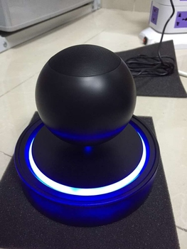 Hot new product for 2016 portable magnetic floating levitating bluetooth speaker
