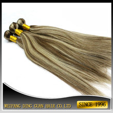 Cheap Price Straight Hair Bundle Mixed Color Brazilian Hair Weave Extensions