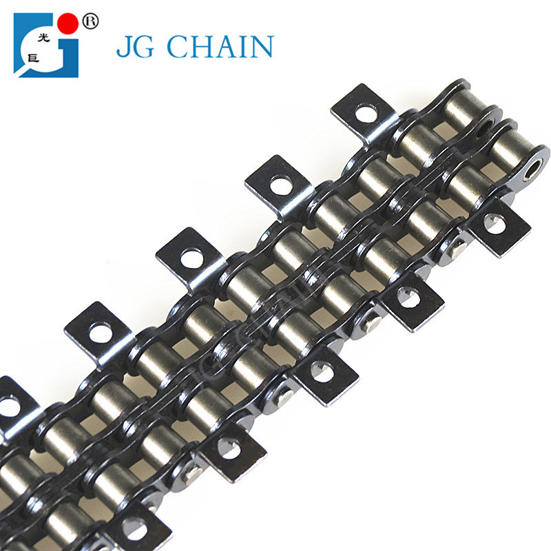 06C china manufacturer iso certified alloy steel material industry transmission roller chain 3/8
