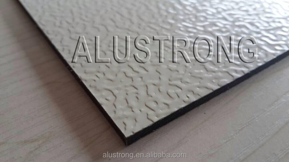 Surface Applied Aluminum Composite Panel : Embossed surface aluminum composite panel acm acp view