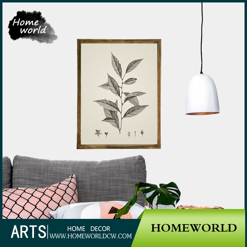 2017 hot sale hanging wood for prints paper picture frames