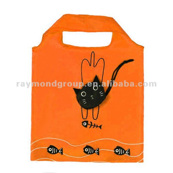 folding animal shape shopping bags