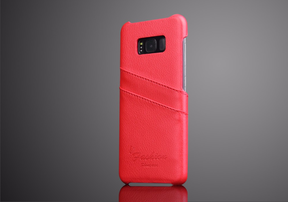For samsung galaxy s8 case hot selling genuine leather case cover