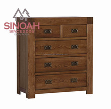 oak furniture rustic solid woodantique wooden drawer chest