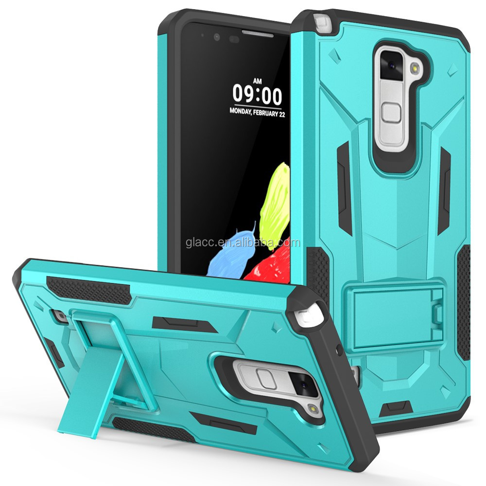 2016 China Cheap Hybrid shockproof phone case for LG Stylus 2 Plus MS550 /Stylo 2/LS775 hard back cover