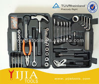 Ratchet tools set with wrench and socket