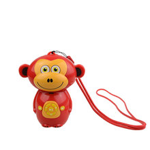 customized MP3 players in red Monkey shaped from China