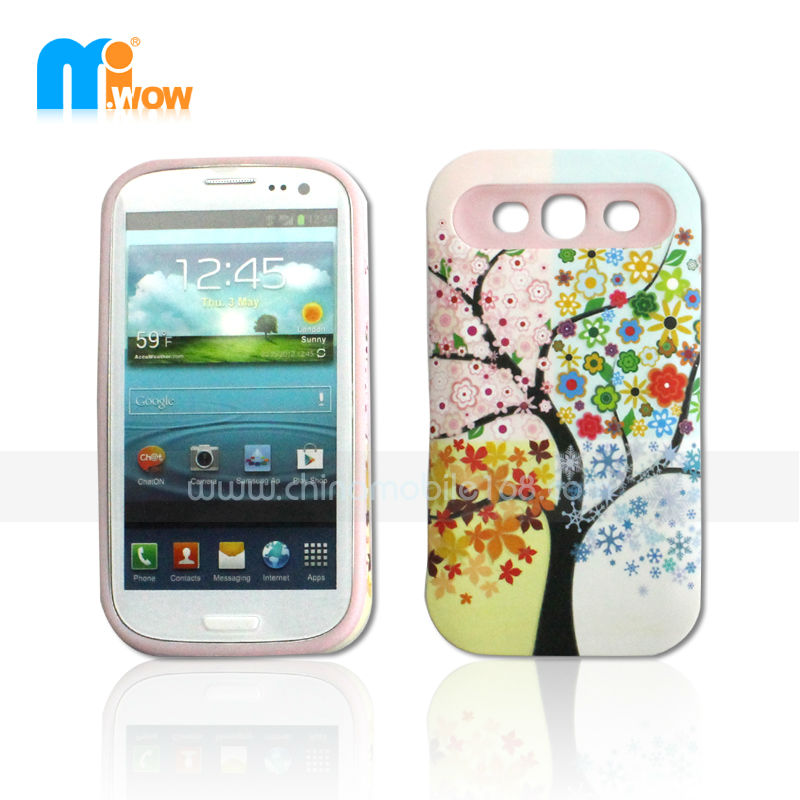 New cell phone case for iface case for samsung galaxy s3 i9300 Different Designs PC Cover Case