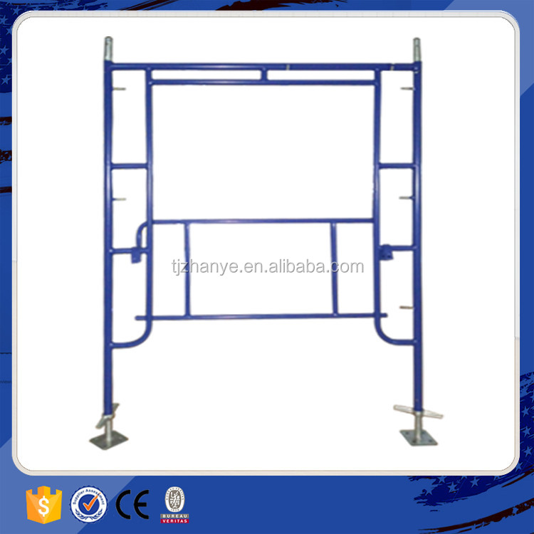 easy assembled scaffolding material specification in stock